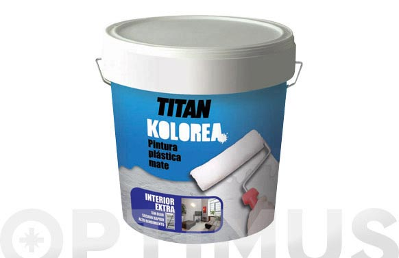 Pintura plastica mate decor interior 5 kg