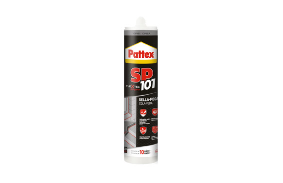 Adhesivo sellador sp 101 gris 280 ml