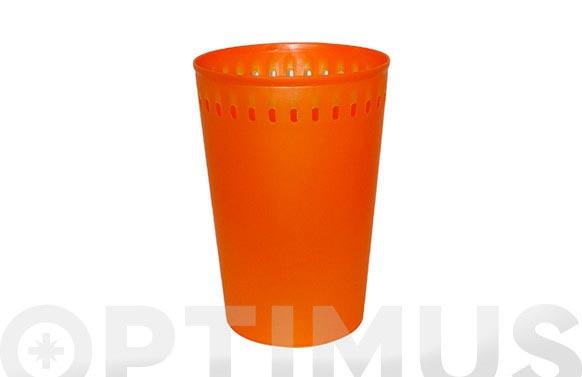 Cesto ropa balmes 19226 naranja