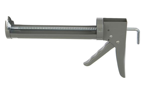Pistola cartucho silicona cremallera 7:1 310 ml reforzada