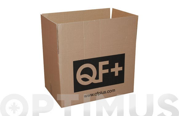 Caja carton embalar marron qf+ 40x40x30