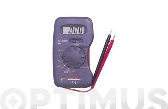 Multimetro digital dt-101