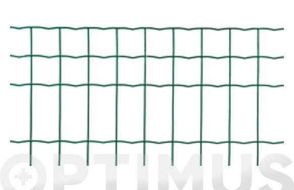 Malla jarditor classic verde 100x50 mm altura 80 cm