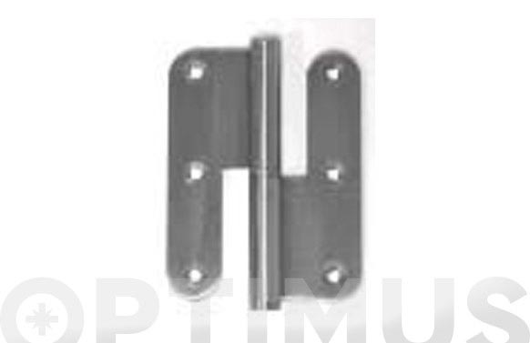 Pernio inox p/redonda pb210pr/100x86-d