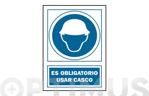 Señal obligacion catalan 297x210 mm casc