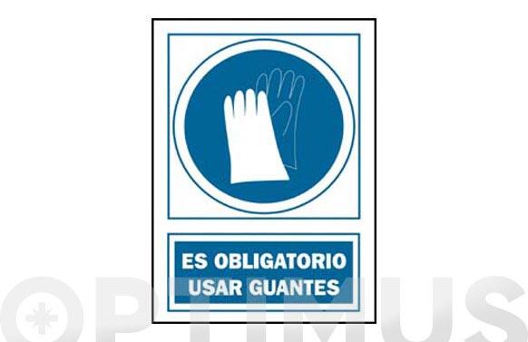 Señal obligacion catalan 297x210 mm guants