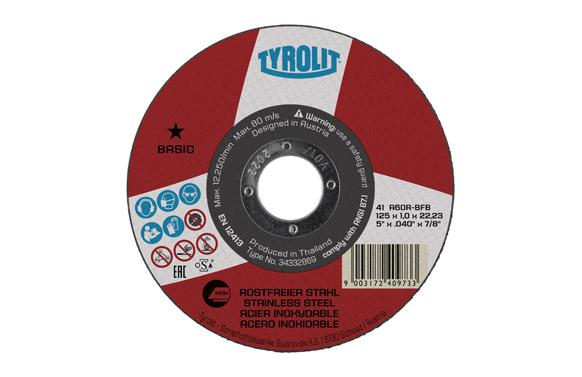 Disco corte inox basic 230 x 1,9 x 22 plano
