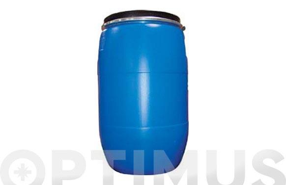 Bidon boca ancha azul homologado 120 l circular