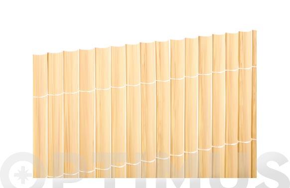 Canizo plastico s/cara bambu 51003-1,5x5m