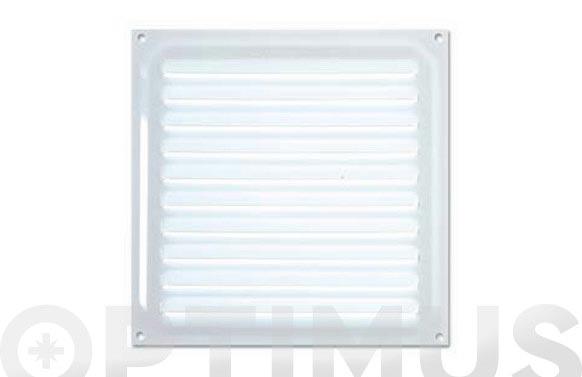 Rejilla ventilacion 15x15 lacada blanca