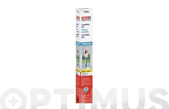 Cortina mosquitera para puertas color antracita