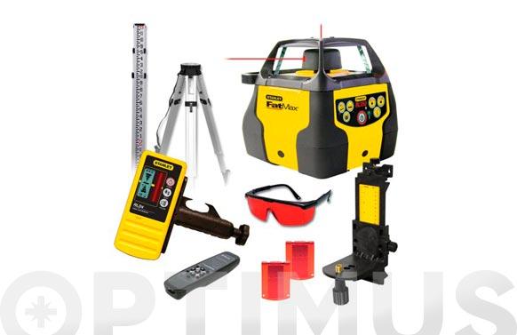 Nivel laser rotativo + kit rl-350 autonivelante