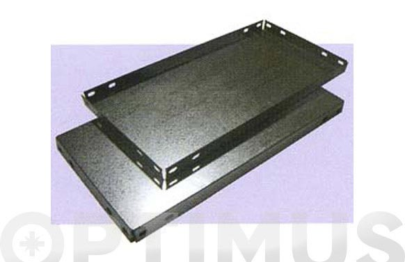 Bandeja estanteria galvanizada 900 x 400 mm