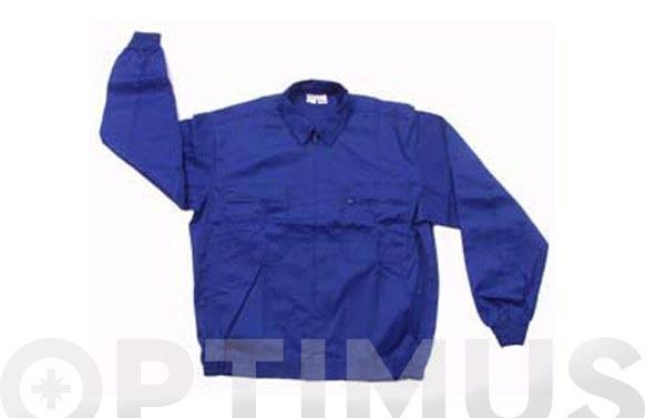 Chaqueta algodon t 52 azul