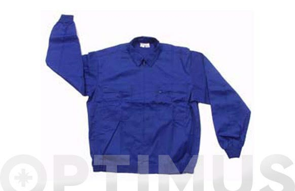 Chaqueta algodon t 64 azul