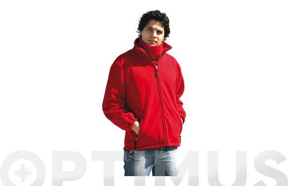Chaqueta polar hymalaya t xxl rojo