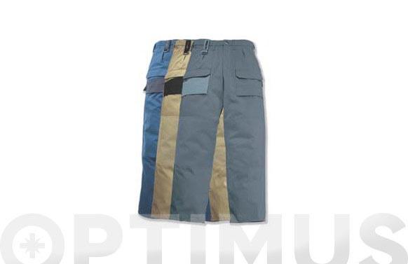 Pantalon corto bolsillos laterales t m beige