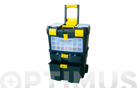 Carro trolley herramientas con compartimentos