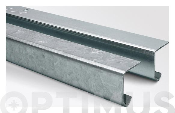 Perfil acero neocrom k20/30 3 m