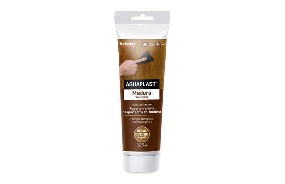 Aguaplast masilla madera 125 ml 2282 nogal oscuro