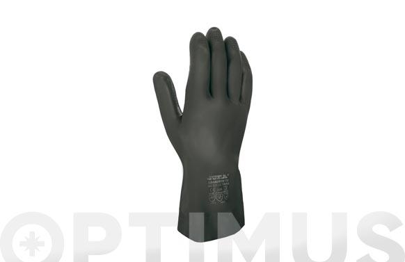 """Guante """"grandeur 70"""" neopreno con latex negro t/8-8,5"""