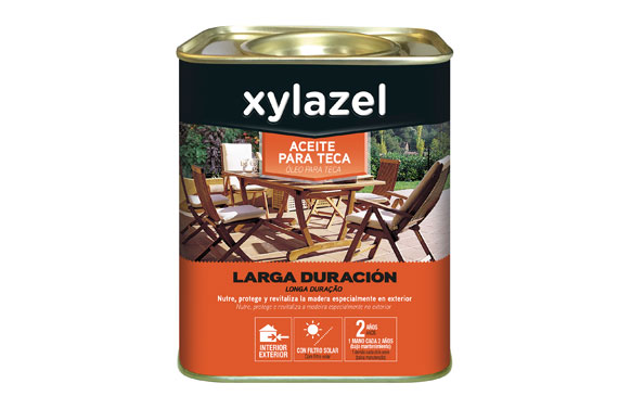 Aceite teca larga duracion 750 ml teca claro