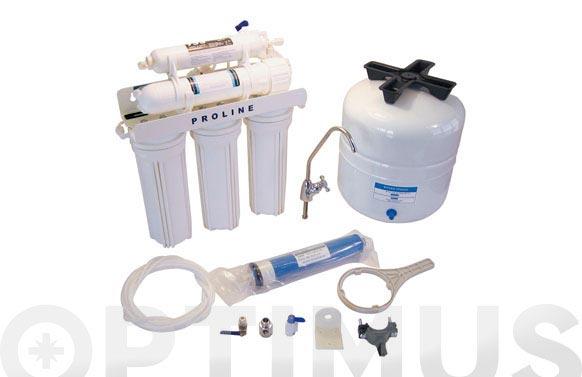 Osmosis domestica proline sin bomba
