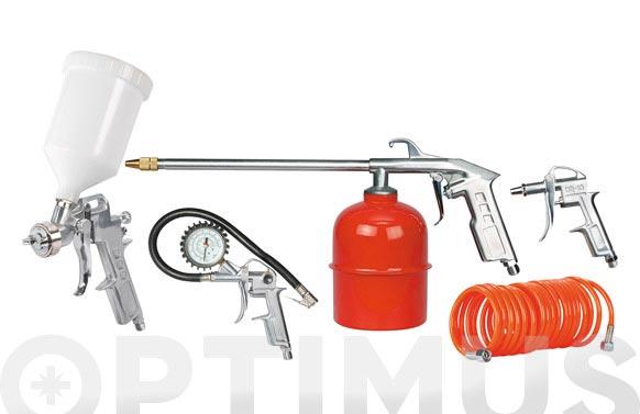 Pistola kit 5 piezas sagola 20160105