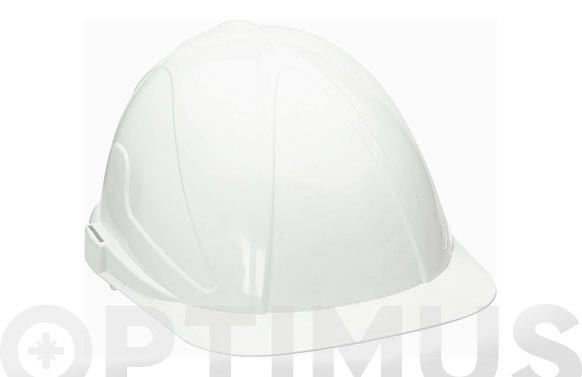 Casco obra abs con regulacion txr-blanco