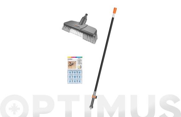 Limpieza suelos kit gardena