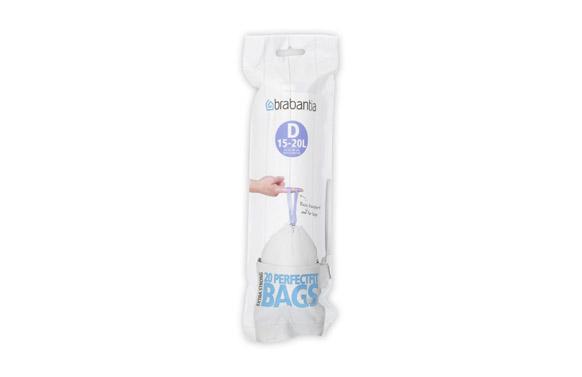 Bolsa basura cierra facil (20 uds) 15-20 l