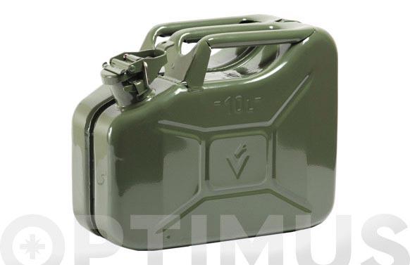 Bidon homologado para combustible jc-10 litros
