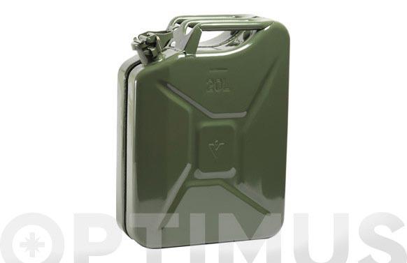 Bidon homologado para combustible jc-20 litros