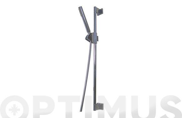 Conjunto ducha + barra deslizante cromo