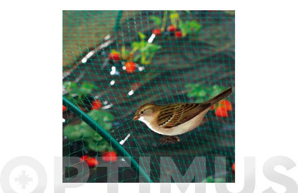 Malla antipajaros birdnet verde (18x18mm) 4x6