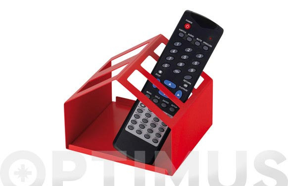 Caja mando a distancia metal blanco