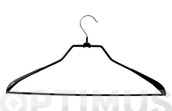 Percha metalica camisa + pantalon antideslizante