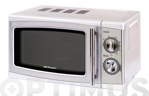Horno microondas con grill inox mig-2011 20l