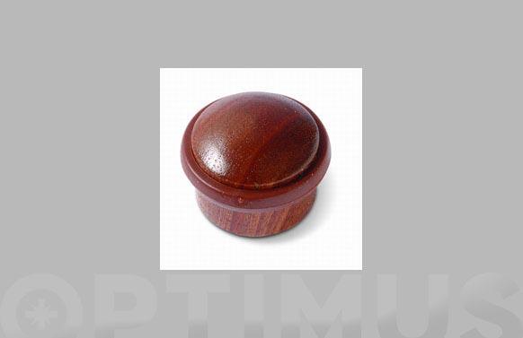 Tope de puerta adhesivo cilindrico ø 35 mm sapeli