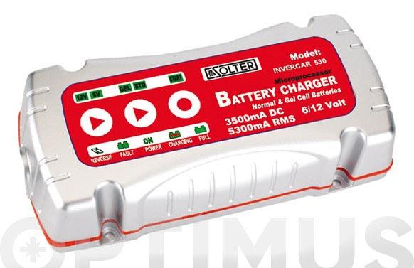 Cargador de baterias invercar-530