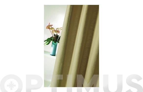 Cortina de bano lino 1.80x1.80 lisa