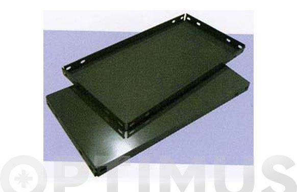 Bandeja estanteria gris oscuro 1000 x 400 mm