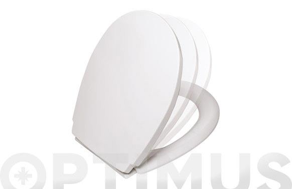 Tapa wc klen softclose blanca 35,5 cm x 41,5 min-43,5 max