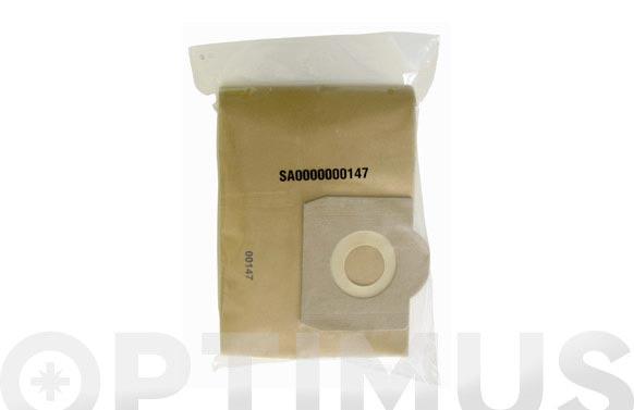 Bolsa papel aspirador (10 unid) 16 l drako/cifec