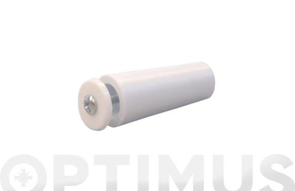 Tope persiana 55 mm (25 uni) blanco