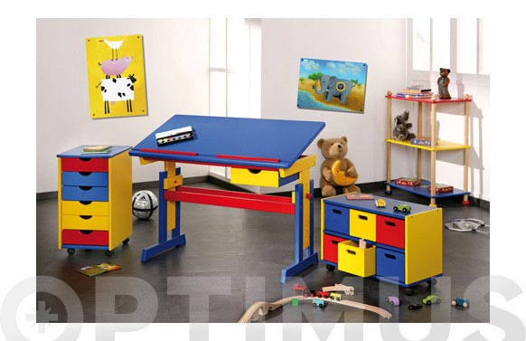 Buch infantil 6 cajones ronny 36 x 40 x 65 cm