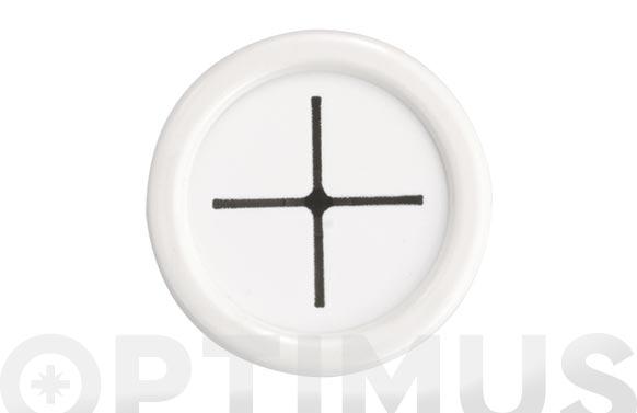 Colgador adhesivo para 1 paño cocina 2089 blanco