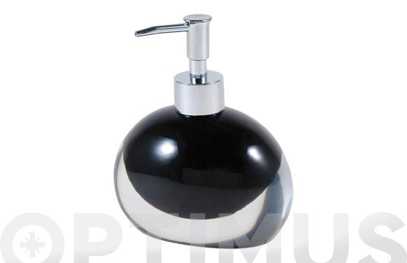 Dosificador baño resina negro