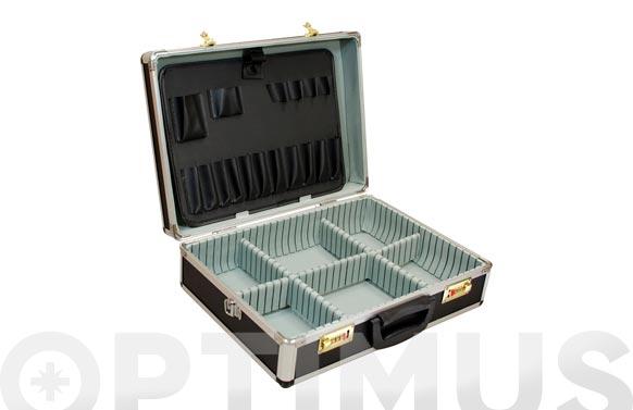 Maleta herramientas 450 x 320 x 150 mm con cierres de combinacion numerica