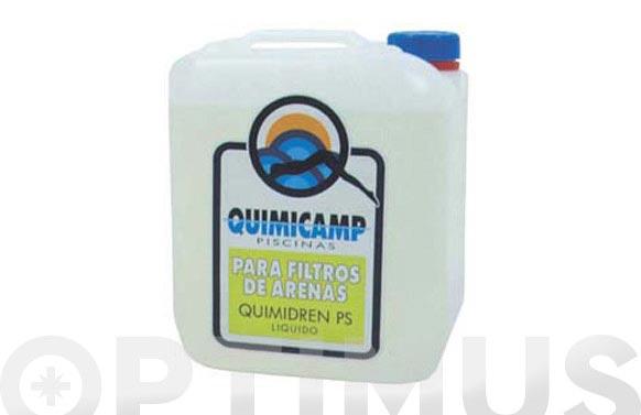 Limpiador filtro arena 5 l quimidren ps